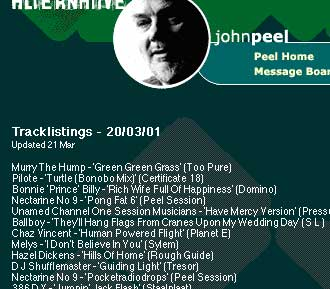 John Peel playlist